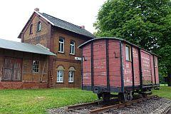 Bahnhof Pölzig, 17. Juni 2012